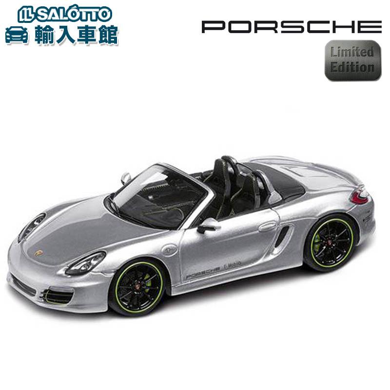 【 ポルシェ 純正 クーポン対象 】 モデルカー 981 ボクスターE 世界限定販売2000個 スケール 1:43 BOXTERMinichamps社又はSPARK社製 ミニカー トイカー Porsche Design