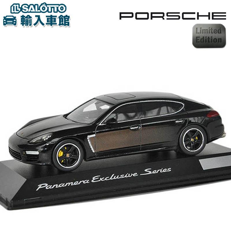 【 ポルシェ 純正 】 モデルカー パナメーラ エクスクルーシブ 世界限定販売2000個 スケール 1:43 PANAMERA executiveMinichamps社又はSPARK社製 ミニカー トイカー Porsche Design