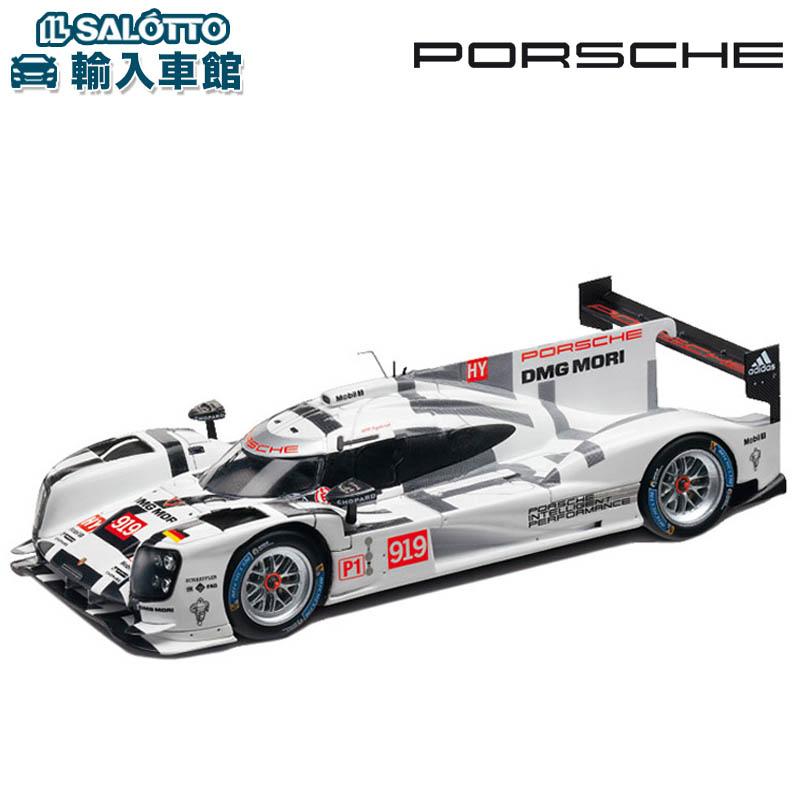 【 ポルシェ 純正 クーポン対象 】 モデルカー 919 ハイブリッド 2015年 WEC LMP1クラス スケール 1:43 HYBRIDMinichamps社又はSPARK社製 ミニカー トイカー Porsche Design