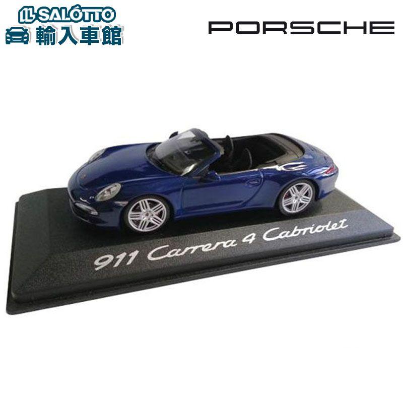 【 ポルシェ 純正 クーポン対象 】 モデルカー 911 カレラ4 カブリオレ スケール 1:43 CARRERA cabrioletMinichamps社又はSPARK社製 ミニカー トイカー Porsche Design
