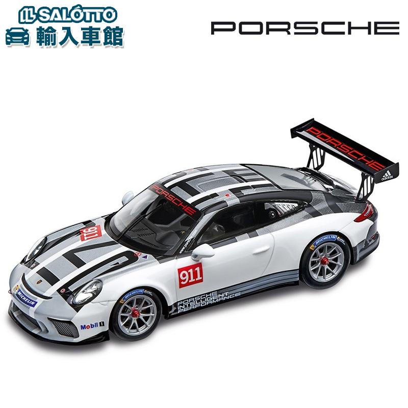【 ポルシェ 純正 クーポン対象 】 モデルカー 911 GT3 cup 1:43 991II 2017SPARK社製 ミニカー トイカー カレラ カップ カップカー