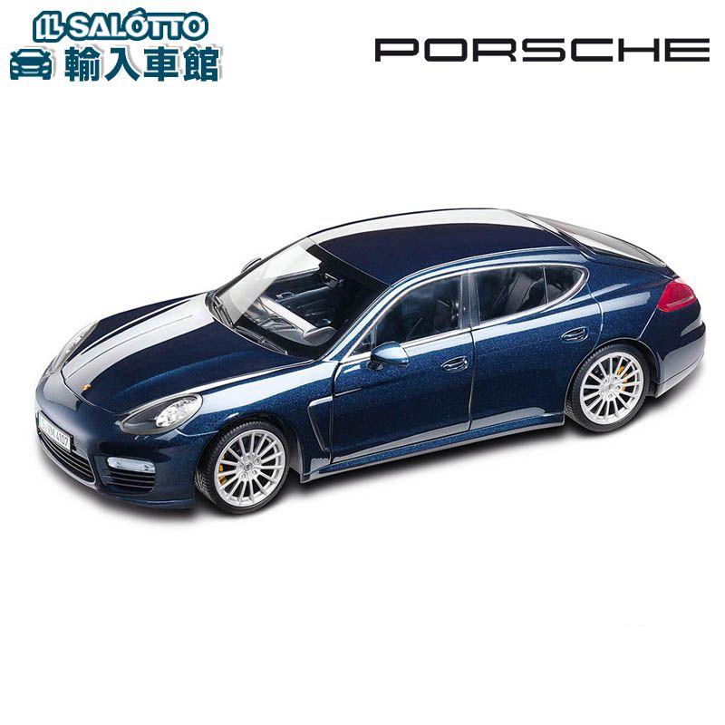 【 ポルシェ 純正 】 モデルカー パナメーラ ターボS スケール 1:18 PANAMERA TURBOMinichamps社又はSPARK社製 ミニカー トイカー Porsche Design