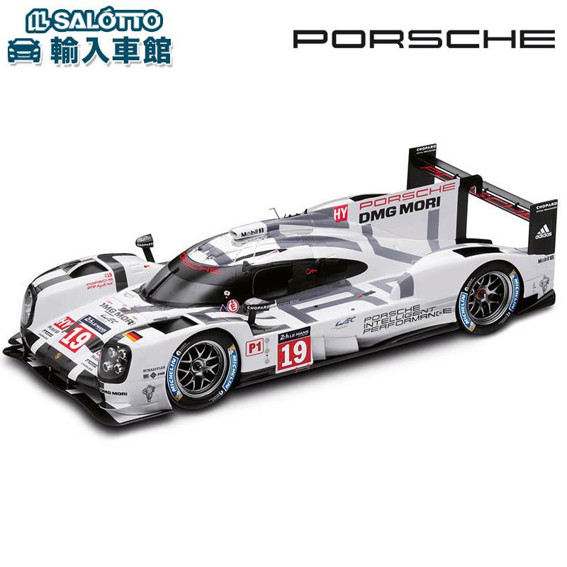 【 ポルシェ 純正 】 モデルカー 919 ハイブリッド 2016年 WEC LMP1クラス ルマン 優勝車 No19 スケール 1:18 ル・マン lemansMinichamps社又はSPARK社製 ミニカー トイカー Porsche Design
