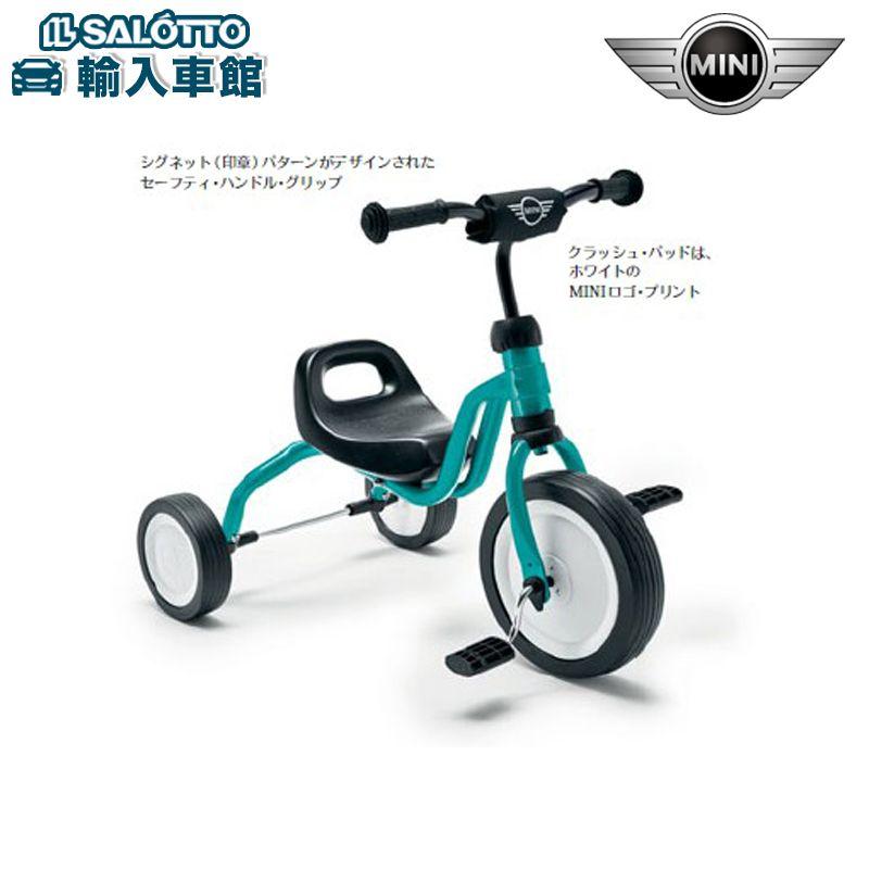 【 MINI 純正 クーポン対象 】 Tricycle 三輪車 サイズ:約62cm(全長)×42cm(幅)×52cm(高さ)/25cm(シート高) BMWミニ LIFESTYLE COLLECTION
