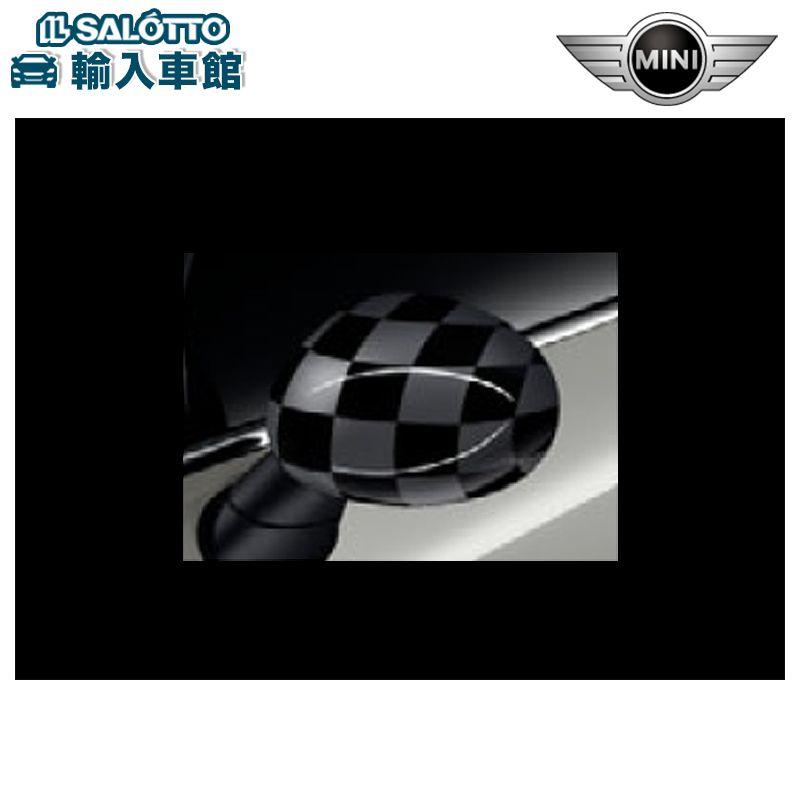 【BMW MINI 純正 クーポン対象】ミラーキャップ CHEQUERED FLAG グレー F55 F56 F57 F54 F60 純正 汎用 左右個別販売 豊富な組み合わせで、あなたのMINIをもっと個性的に。
