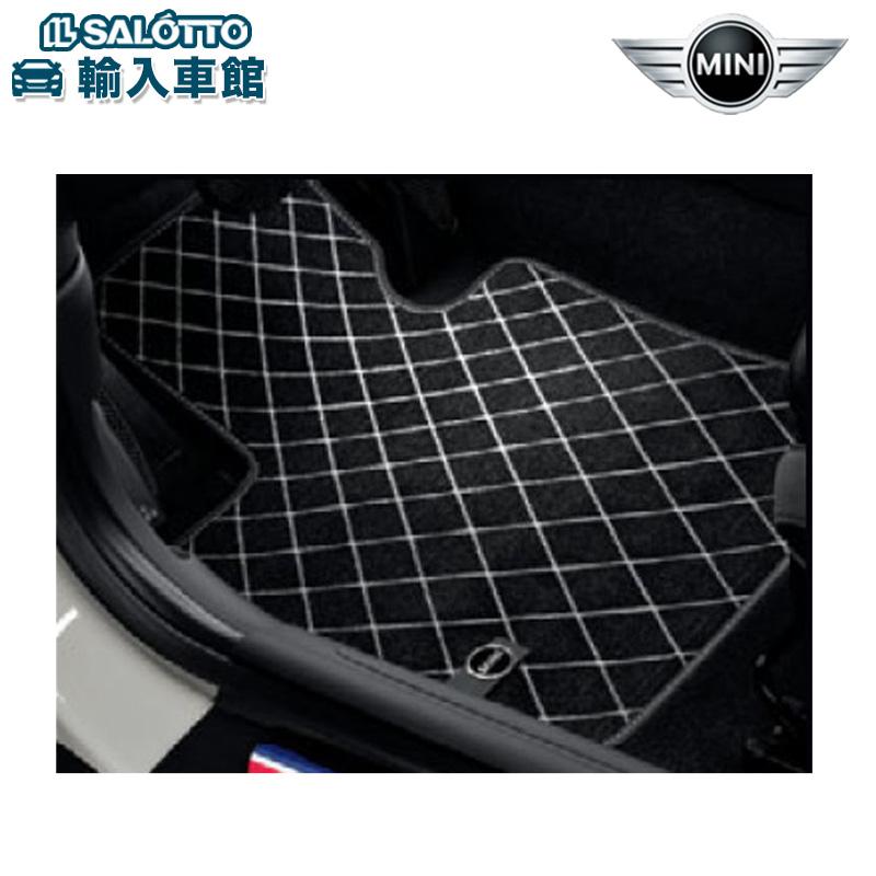 【BMW MINI 純正 クーポン対象】 フロア・マット・セット・テキスタイル/エッセンシャル・ブラック/リアセット3DOOR用ミニ 3ドア(F56)