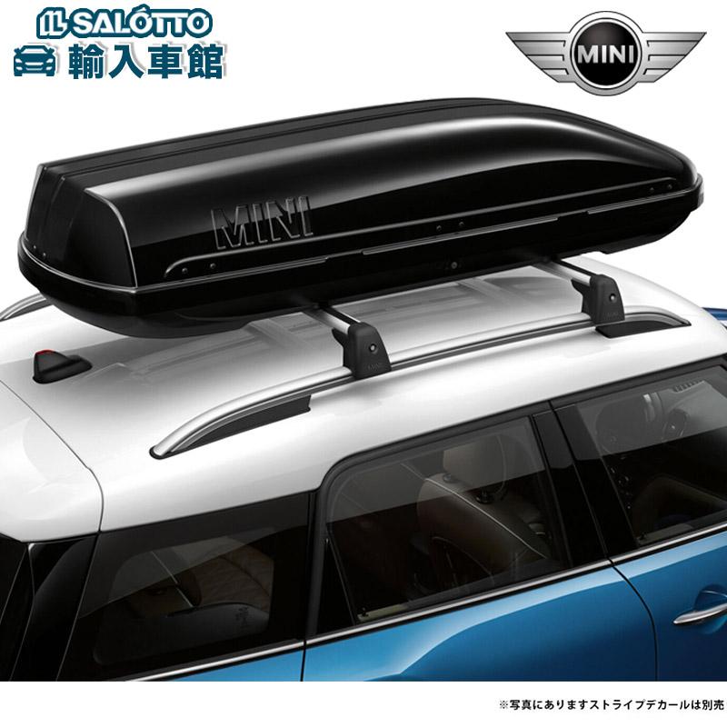 【BMW MINI 純正 クーポン対象】ルーフボックス 320 カラー:ブラック / 適合:ルーフレール装備車用(ベースサポート設置車)320リットル 最大5組のスキー(180cm以下)を収納可能 MINIのワードマーク入り