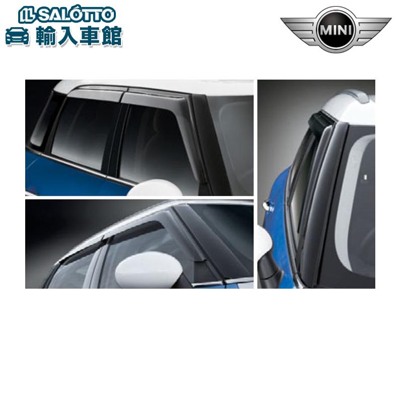 BMW MINI アクセサリー ミニ 爆買いセール グッズ バイザーCROSSOVER ドア R60 純正 クロスオーバー 今だけスーパーセール限定