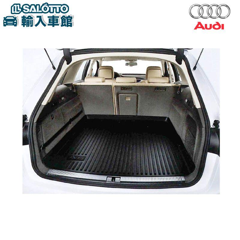 【 AUDI 純正 クーポン対象 】 A6 / S6 / RS6 適合 ラゲッジ ラバー マット アウディ 専用 ラバー製マットでラゲッジスペースの汚れを防ぎます 純正アクセサリー エンブレム デザイン original design option