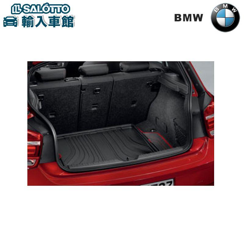 【 BMW 純正 クーポン対象 】 トランクマット ラゲッジ コンパートメント マット ブラック/レッド(Sport)BMW 1シリーズ F20