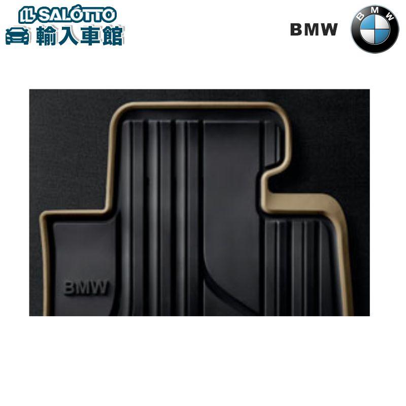 【 BMW 純正 クーポン対象 】 F30 F31 F34 フロアマット フロントセット オールウェザー ブラック/オイスター 右ハンドル車用 ラバーマット オリジナル アクセサリー