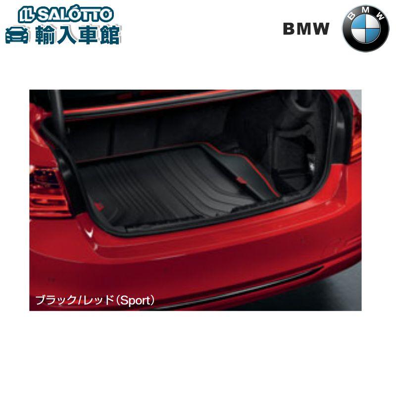 【 BMW 純正 クーポン対象 】 ラゲージコンパートメントマット ※セダン用 カラー:ブラック/レッド(Sport)/ ラゲッジ トランクマット トランクトレイBMW 3シリーズ 4シリーズ クーペ F32 M4