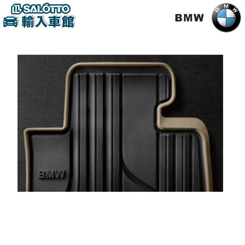 【 BMW 純正 クーポン対象 】 オールウェザー フロアマット フロントセット カラー:ブラック オイスター(Modern)/ ラバーマットBMW 3シリーズ グランツーリスモ F34