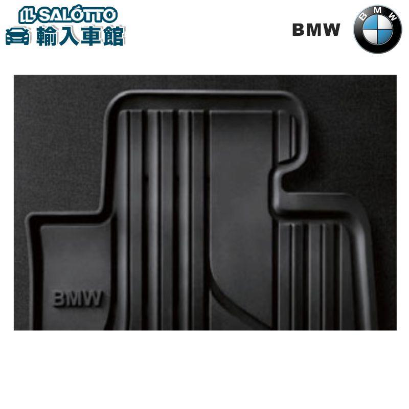 【 BMW 純正 クーポン対象 】 オールウェザー フロアマット フロントセット (カブリオレ用 左ハンドル用) カラー:ブラック(Standard)/ ラバーマットBMW 4 シリーズ カブリオレ F33