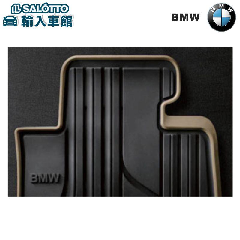 【 BMW 純正 クーポン対象 】 オールウェザー フロアマット フロントセット カラー:ブラック/オイスター ※左ハンドル車のみ / ラバーマットBMW 4 シリーズ カブリオレ F33