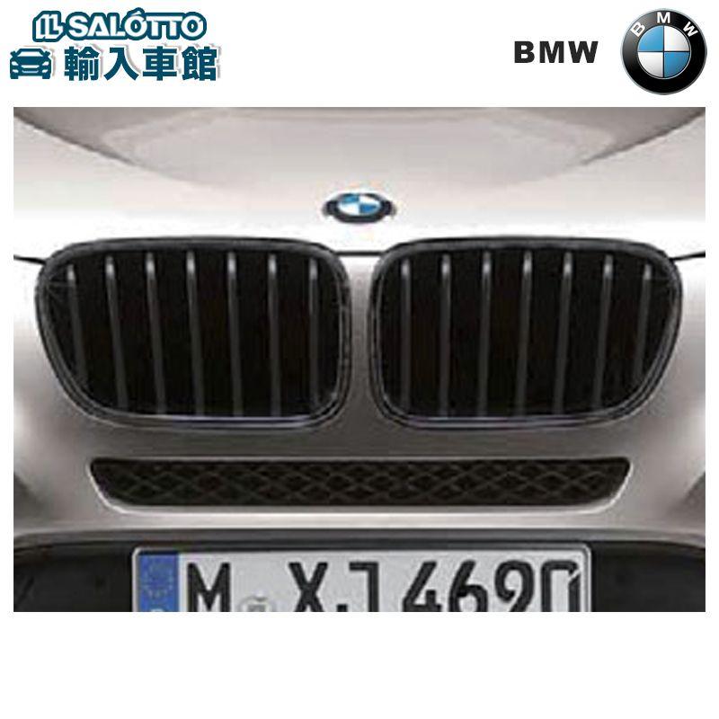 【 BMW 純正 クーポン対象 】 ブラック キドニーグリル X3 F25 ~2014.3生産車両用 左右セット MPerformance