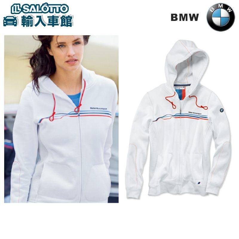 【 BMW 純正 値引クーポン対象 】 スウェット フード ジャケット ( レディース ) カラー:ホワイト