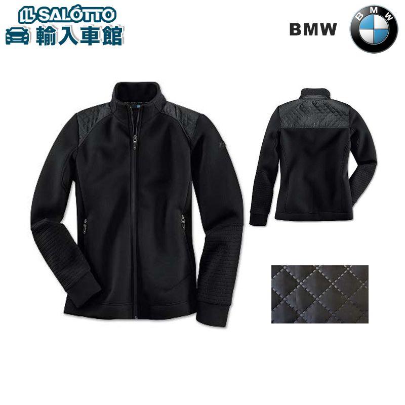 【 BMW 純正 クーポン対象 】 スウェット ジャケット( レディース )カラー:ブラック Mシリーズデザイン