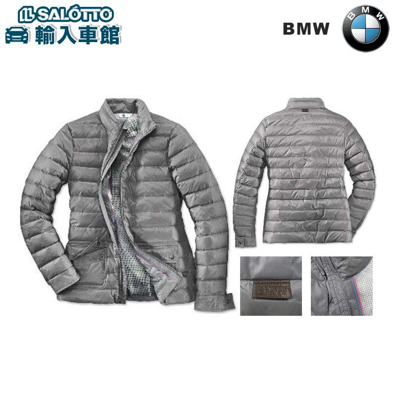 【 BMW 純正 クーポン対象 】 サマーダウン ジャケット ( レディース ) - 季節の変わり目に便利な立ち襟の軽量ダウン・ジャケット 場面を選ばない使い勝手の良い一着