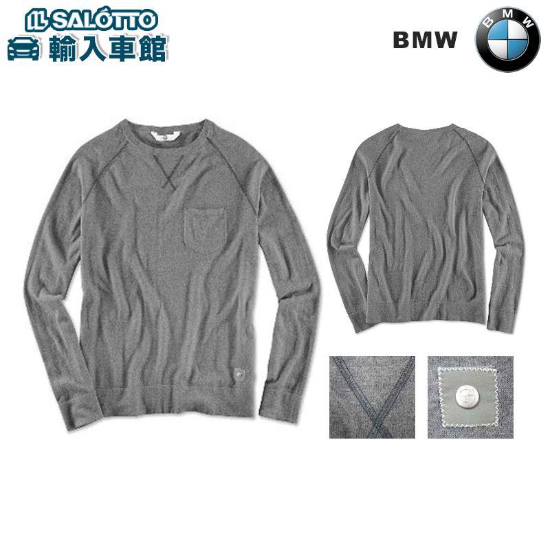 【 BMW 純正 クーポン対象 】 ロングスリーブ ( メンズ ) カラー:グレー