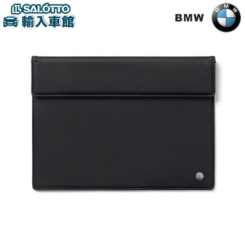 【 BMW 純正 クーポン対象 】 BMW タブレットケース 上質な型押しの子牛革を使用