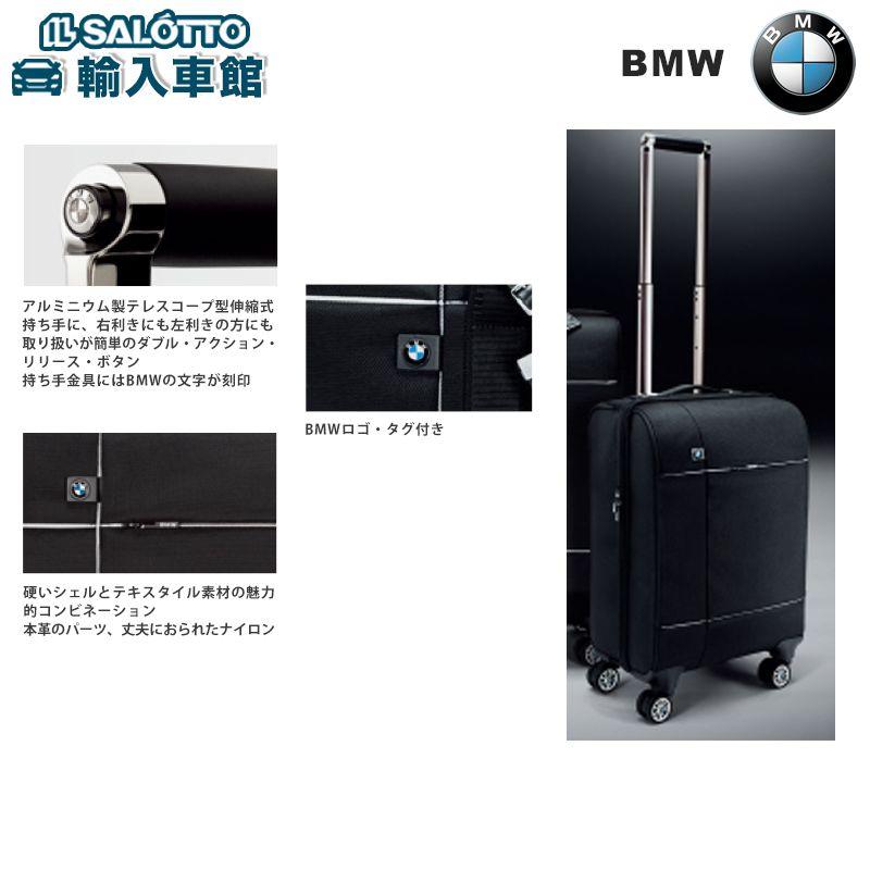 【 BMW 純正 クーポン対象 】 キャビンケース トローリーケース キャリーバッグ カラー:ブラック 重量:約4.2kg サイズ:約51×36×23cm BMWのタイヤホイールデザインで8つのキャスターでの優れた機動性を