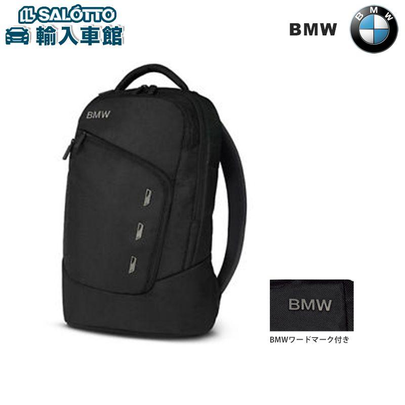 【 BMW 純正 】 バックパック リュックサック カラー:ブラック サイズ:約47.6×32.4×15.3cm BMWデザイン理念に基づくデザイン BMWキドニーグリルデザイン