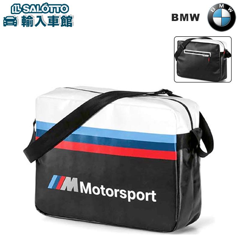 【 BMW 純正 クーポン対象 】BMW M Motorsport ショルダー バッグ ストラップ スポーツ 鞄 カバン 防水 ロゴ