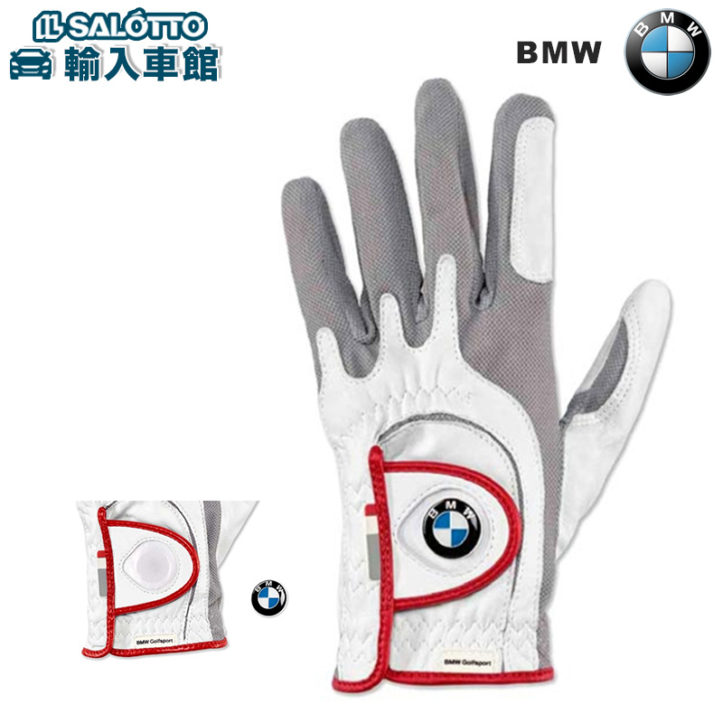 【 BMW 純正 クーポン対象 】 メンズ BMW Golfsport グローブ 左手用 ゴルフ マーカー スポーツ 手袋