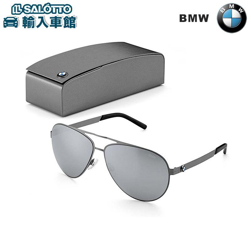 【 BMW 純正 クーポン対象 】 パイロットスタイル サングラス アビエーター ミラーグラス採用 素材:ステンレス(ステンレス) / アセテート