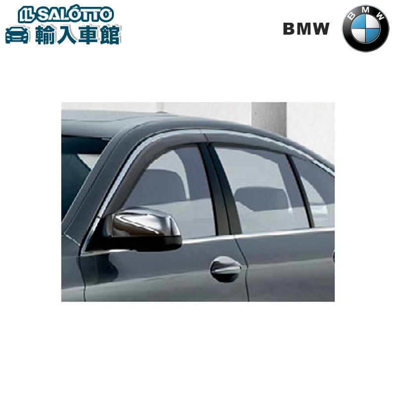 【 BMW 純正 クーポン対象 】 ドアバイザー / アルミ・マット付 5シリーズ セダン F10 ツーリング F11
