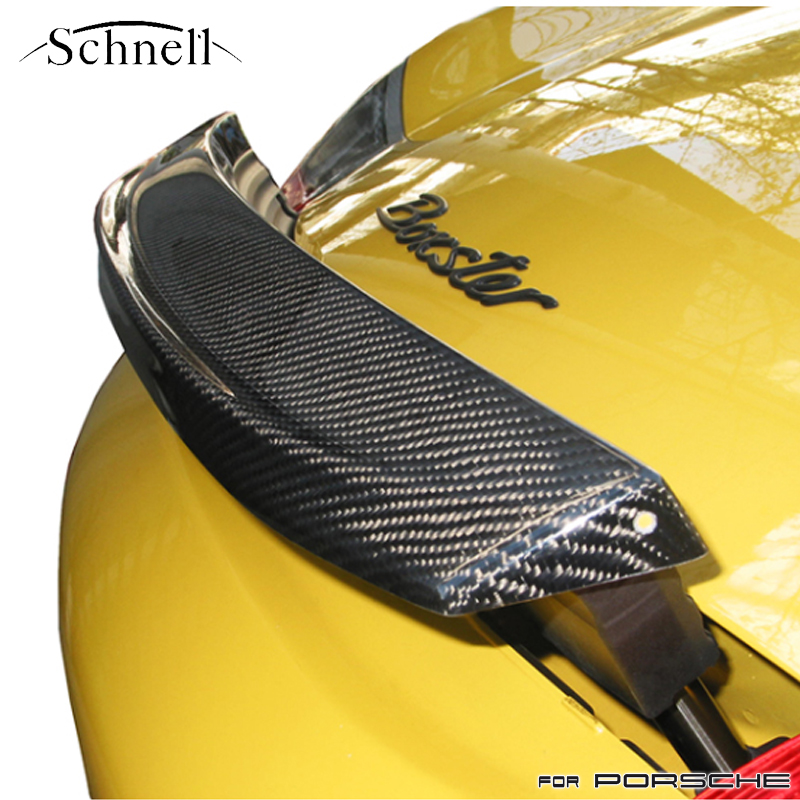 《 schnell 》ポルシェ ボクスター 986 カーボンリアウイング [被せタイプ] ※ Porsche Boxster 986 Carbon Rear Wing [slip-on]《 シュネル 》