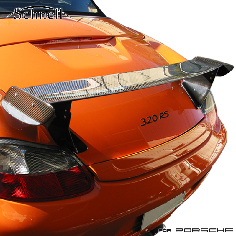 《 schnell 》ポルシェ ボクスター 986 GT3RS カーボンリアウイング ※ Porsche Boxster 986 GT3RS Carbon Rear Wing《 シュネル 》