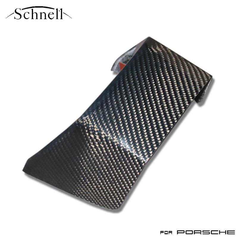 《 schnell 》ポルシェ 997 センターコンソールエンドカバー カーボンインテリアパネル ※ Porsche 997 Center Console End Cover Carbon Interior Panel《 シュネル 》
