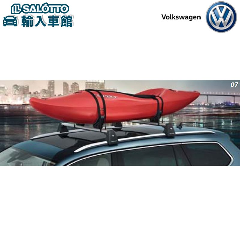 【 VW 純正 クーポン対象 】カヤックホルダー カヌーやカヤックをルーフに積んで搬送するためのホルダーPassat Passat Variant Sharan tiguan Golf Touran Variant UP! Polo