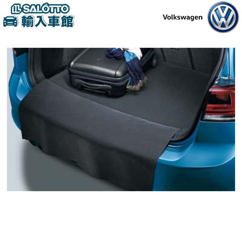 【 VW 純正 クーポン対象 】リバーシブルラゲージマット ラゲージスペースとリヤバンパーを保護することもできるマットGolf