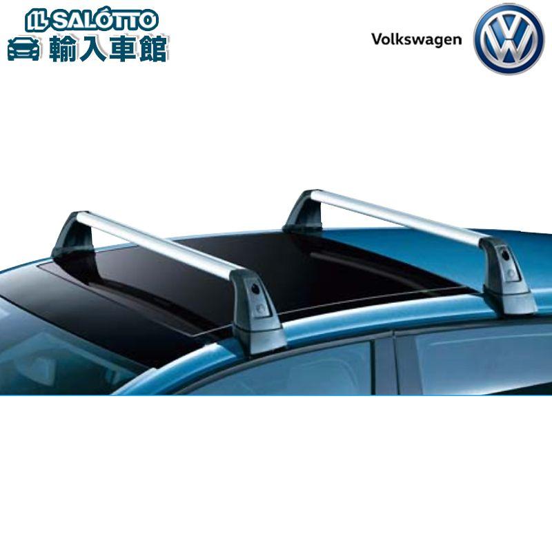 【 VW 純正 クーポン対象 】ルーフバー GOLF専用設計 キーロック付 T-スロットタイプ 各種ホルダーを取り付けて使用Golf