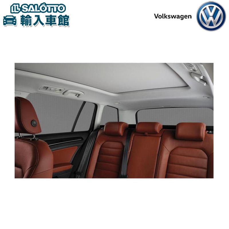 【 VW 純正 クーポン対象 】サンブラインド (リヤドアウインドー左右、リヤラゲージサイドウインドー左右、リヤウインドー、取付キット/1セット) 日よけ ドライブ レジャーGolf Variant