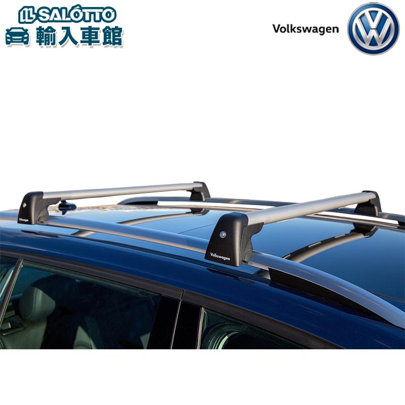 【 VW 純正 クーポン対象 】キャリングロッド 標準装備のルーフレールに取り付けるキャリングロッドGolf Variant
