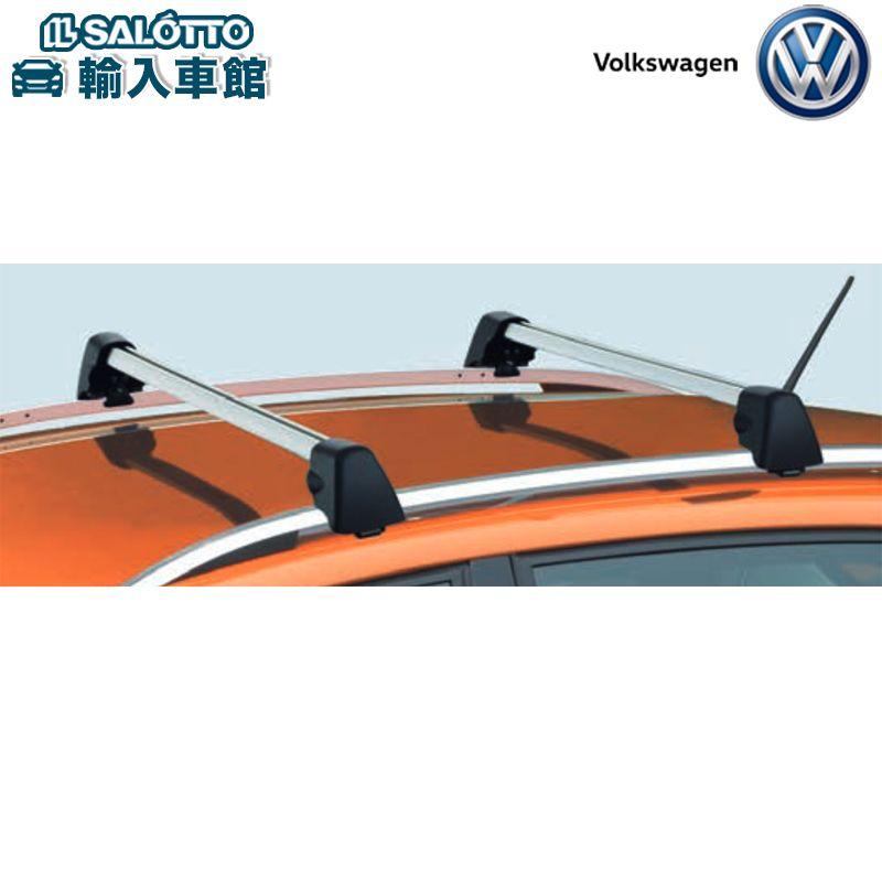 【 VW 純正 クーポン対象 】キャリングロッド アルミ製 本体重量:5.0kg 標準装備のルーフレールに取り付けるキャリングロッドPolo