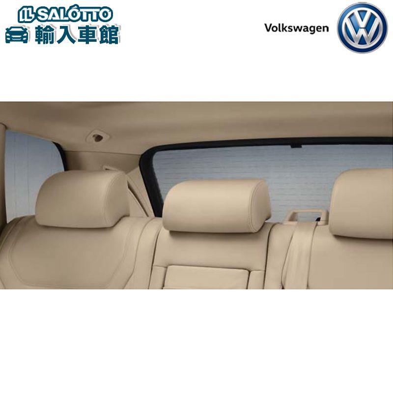 【 VW 純正 クーポン対象 】サンブラインド(リヤ/リヤサイドウインドー左・右、リヤウインドー取付キット1セット)日よけ Touareg