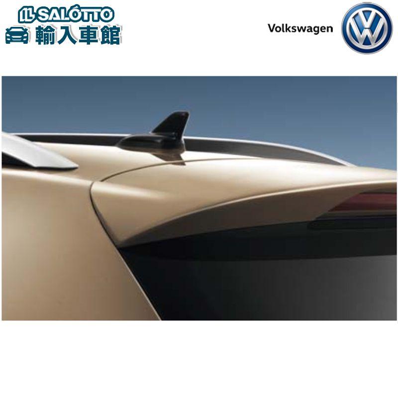 【 VW 純正 クーポン対象 】リヤスポイラー(装着時必要部品一台分含む)ルーフ上部を通る空気を効果的に整流するTouareg
