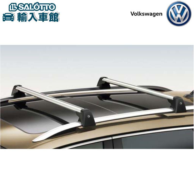 【 VW 純正 クーポン対象 】キャリングロッド アルミ製 軽量 ルーフレールに取り付ける 車種専用設計Touareg