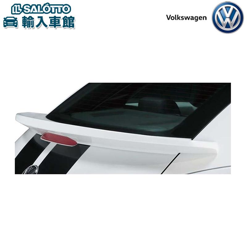 【 VW 純正 クーポン対象 】リヤスポイラー リヤゲート部に入る空気の流れを効果的にコントロールThe Beetle