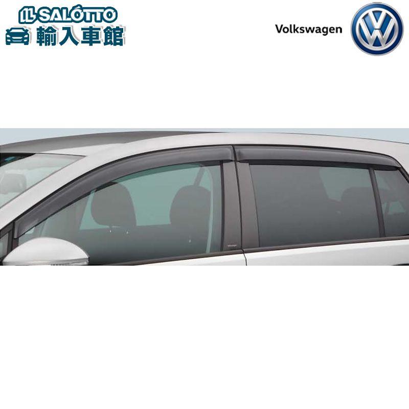 フォルクスワーゲン オリジナル アクセサリー おしゃれ VW 贈呈 純正 サイドバイザー 室内換気 ゴルフ 耐衝撃性 ゴルフ7 アクリル製 雨よけ