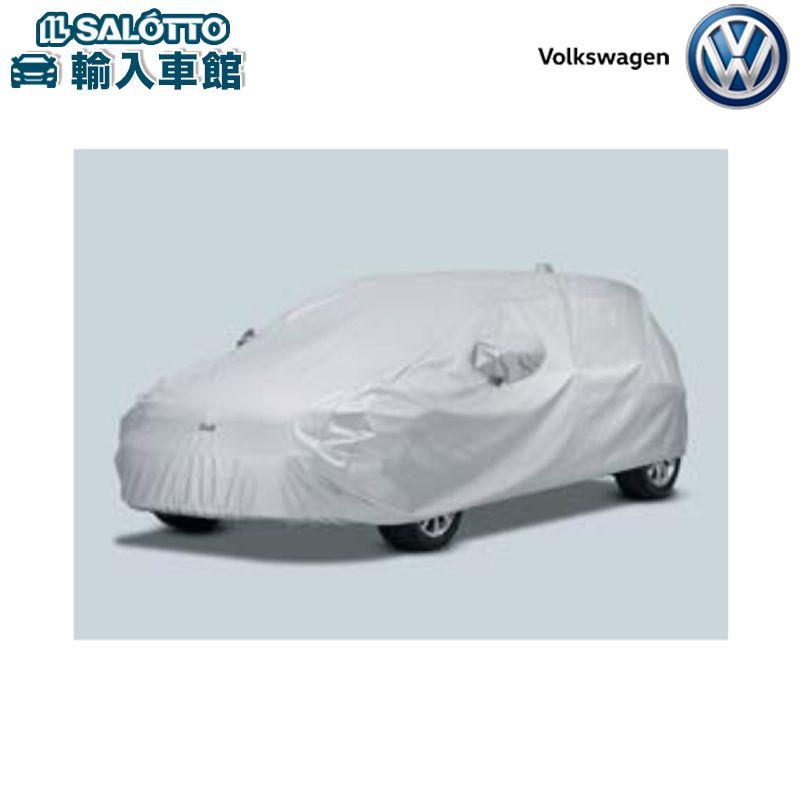 【 VW 純正 クーポン対象 】ボディカバー ポリエステル 防炎加工 Golfロゴ入り 大型収納袋付Golf
