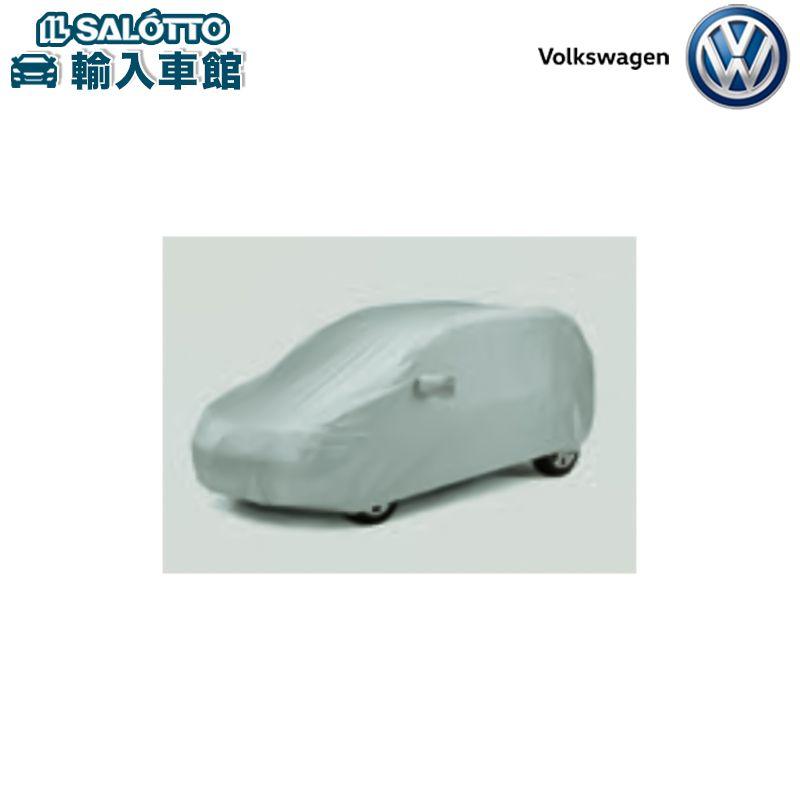 【 VW 純正 クーポン対象 】ボディカバー(防炎加工、飛び止めベルト、アンテナベースポケット、ロゴ入り大型収納袋付)Sharan