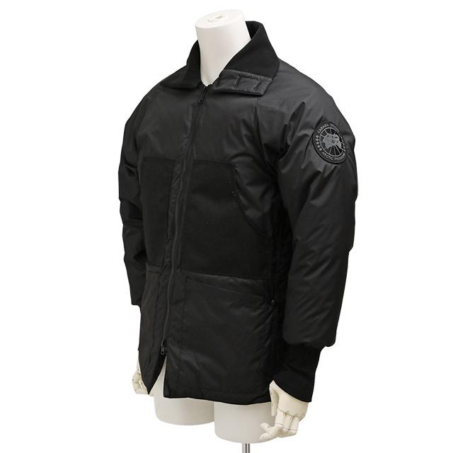 ジュンヤワタナベ・CANADA GOOSE・カナダグースコラボモデルメンズダウンジャケット(ブラック)WB-J404-051-1/BLACK