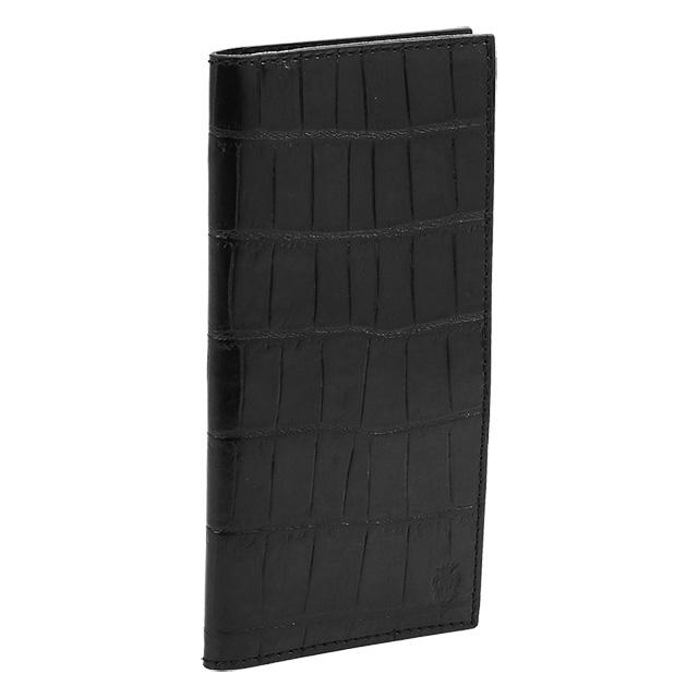 フェリージ/FELISIクロコ型押しレザー2つ折り長財布(ブラック)952-SA 0003