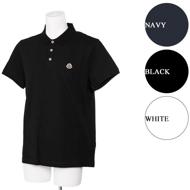 モンクレール/MONCLERチビロゴデザイン・メンズ半袖ポロシャツ8A707 00 84556 773・999・001